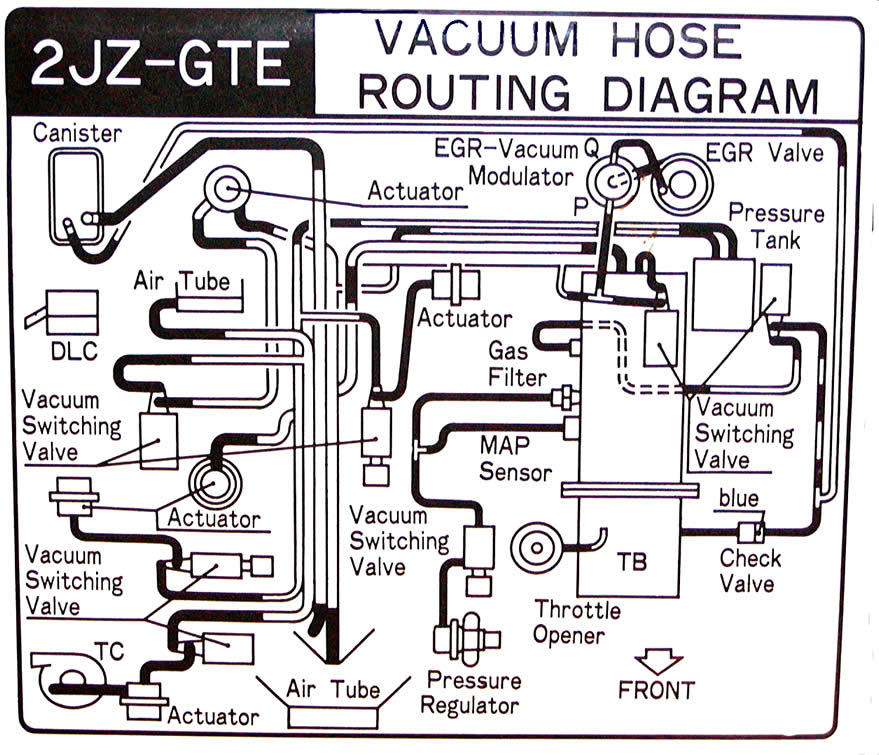 4runner Vacuum Hose Diagram On 93 Toyota 4runner Vacuum Diagram 3 0 on toyota engine wiring harness, toyota 22re bracket, toyota truck wires, toyota celica 20r vacuum, toyota 20r engine manual, toyota 20r vacuum diagram,