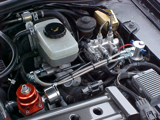 Linelock on Hks Turbo Timer Install