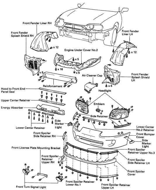 Supra Engine Cover Diagram